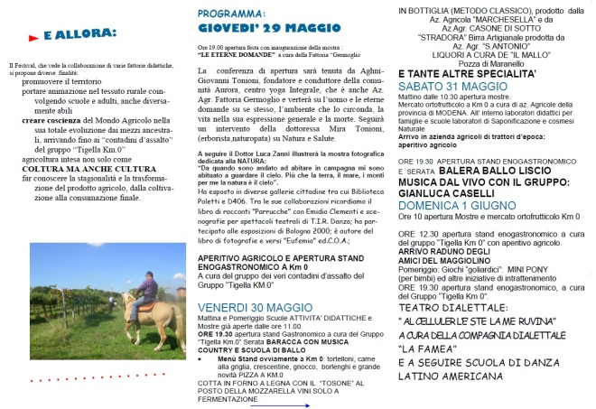 Festival del contadino Maranello Pozza 2
