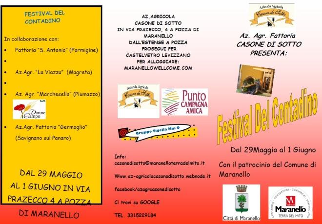 Festival del contadino Maranello Pozza